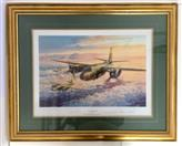 ROBERT TAYLOR MARAUDER MISSION SIGNED BY PILOTS OF B-26